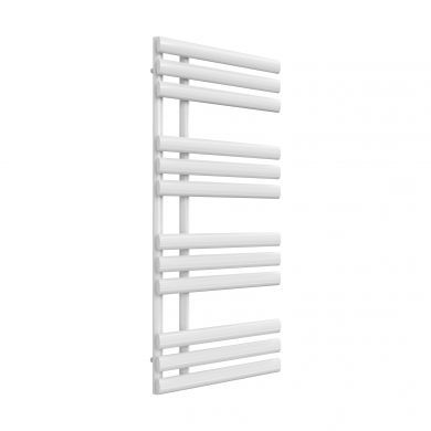Reina Chisa White Designer Mild Steel Towel Radiator 1130x500mm