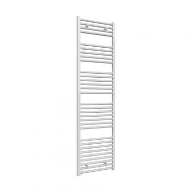Reina Diva Flat White Mild Steel Towel Radiator 1800x500mm