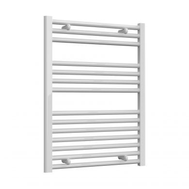 Reina Diva Flat White Mild Steel Towel Radiator 800x600mm