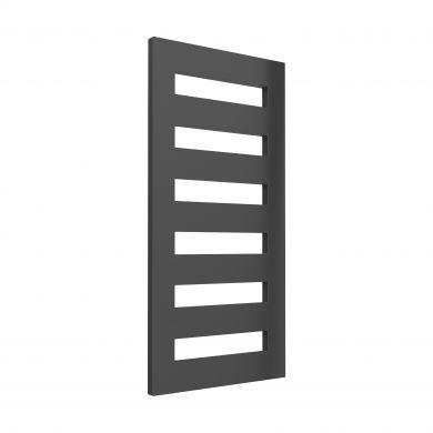 Reina Fondi Anthracite Designer Mild Steel Towel Radiator 1229x600mm