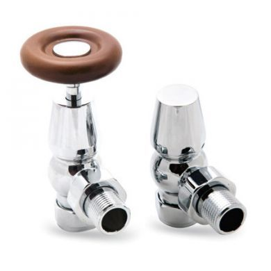 Surrey Traditional Angled Valves Pair