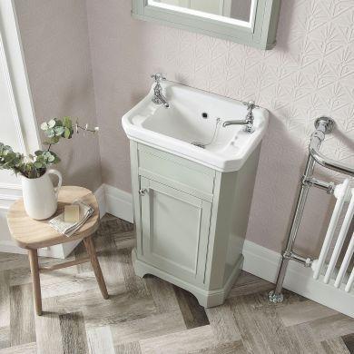 Tavistock Vitoria 500mm Cloakroom Unit With Ceramic Basin