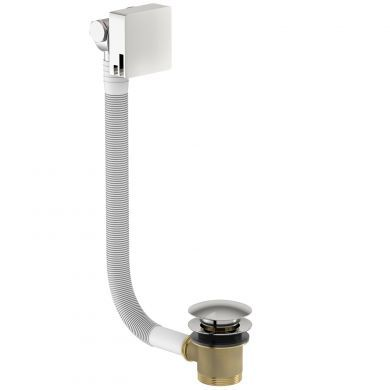 Tissino Alek Square Bath Filler With Waste and Overflow