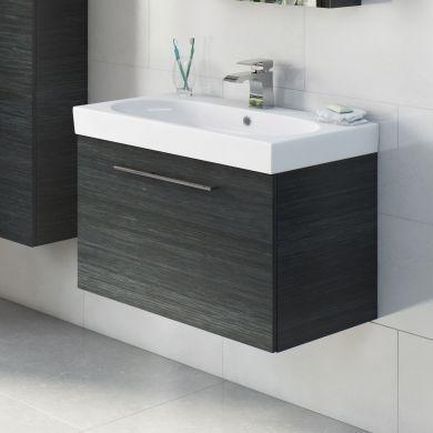Tissino Angelo 600mm Single Drawer Wall Hung Vanity Unit and Basin