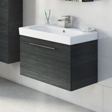 Tissino Angelo 700mm Single Drawer Wall Hung Vanity Unit and Basin