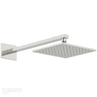 Tissino Mario Wall Mounted Straight Square Shower Arm