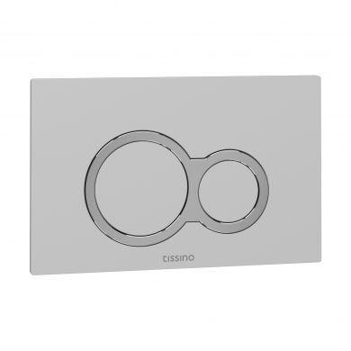 Tissino Rocco Universal Round Flush Plate - White