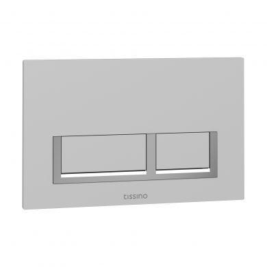 Tissino Rocco Universal Square Flush Plate - White