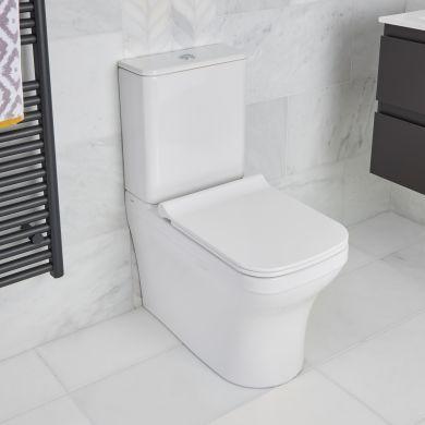 Tissino Savuto Dual Flush Closed Coupled WC With Soft Close Seat