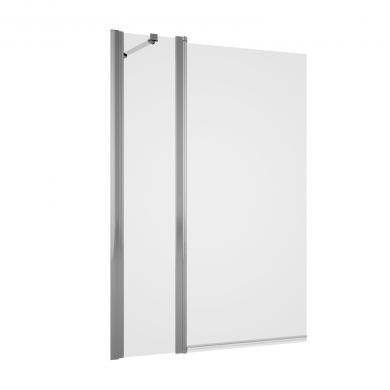 Tissino Messina Double Panel Rectangular Bath Screen